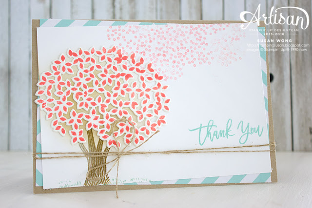 Thoughtful Branches Thank You Card ~ Susan Wong