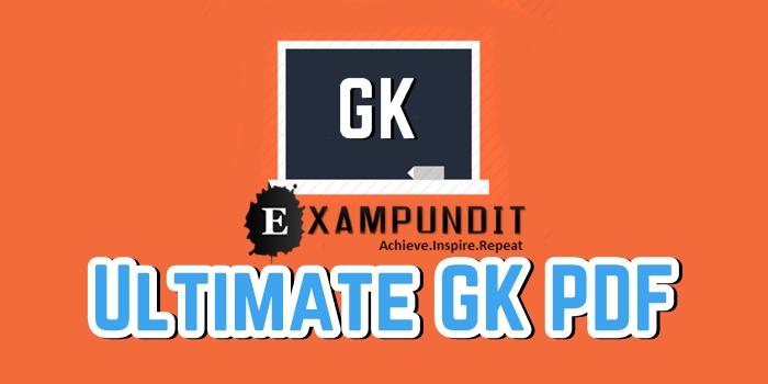 Ultimate GK PDF for RRB NTPC - RePost - Exampundit in