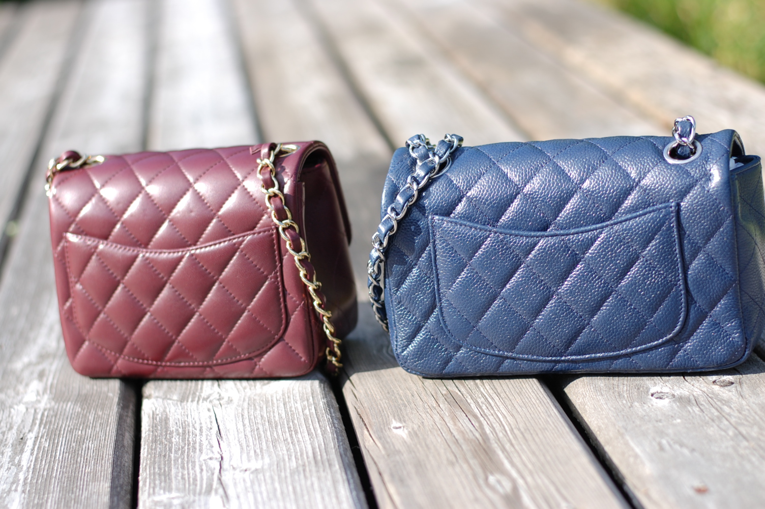 de5c59b6f09 Chanel Timeless Classic Mini Flap handbags  A friendly comparison ...