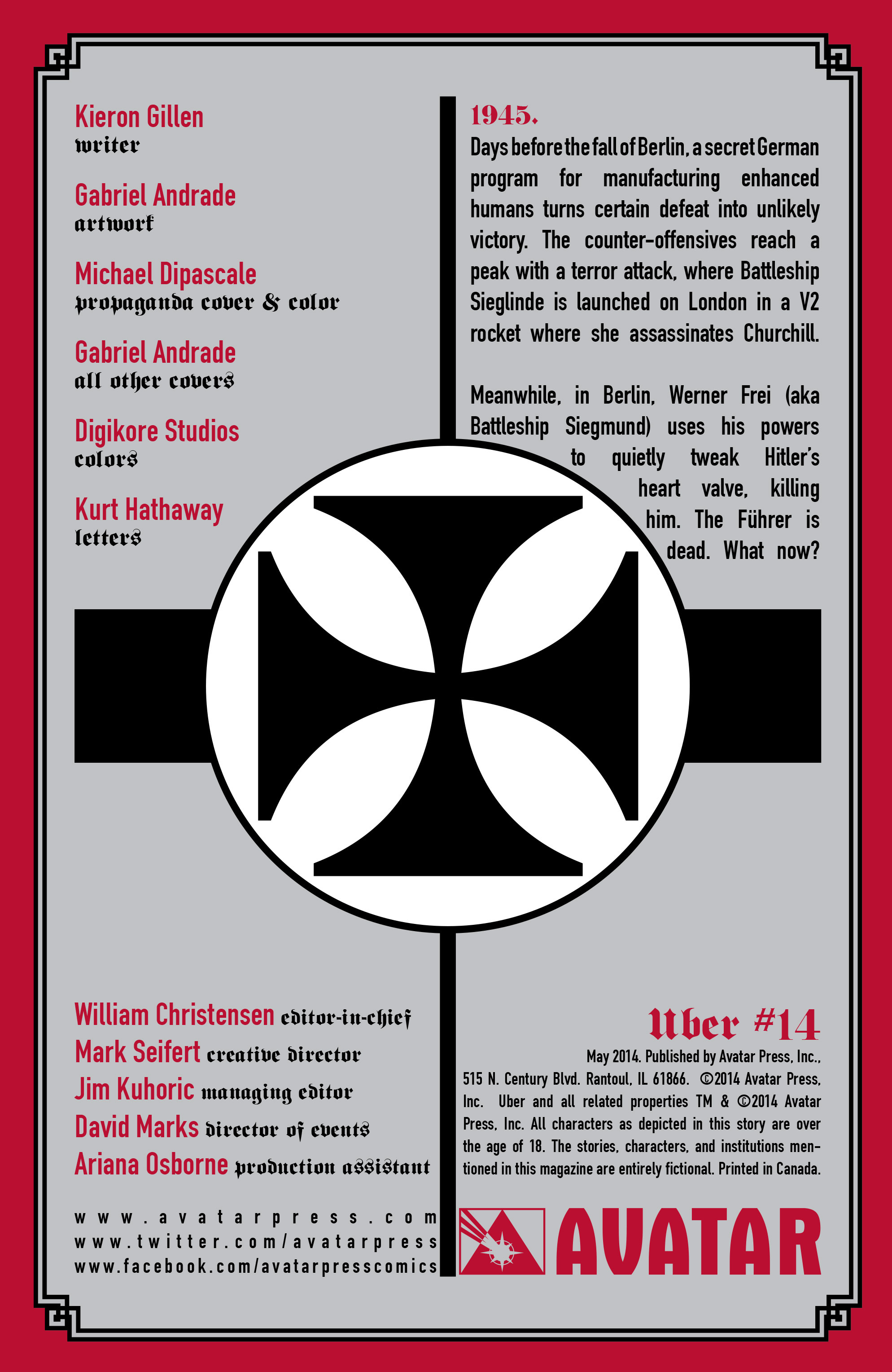 Read online Uber comic -  Issue #14 - 6