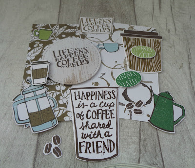 Craftyduckydoodah!, Coffee Cafe, #stampinupuk, #lovemyjob, Stampin' Up! UK Independent  Demonstrator Susan Simpson, Coffee & Cards project April 2018, Supplies available 24/7 from my online store,