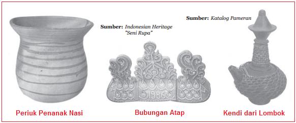 contoh karya seni keramik Terapan