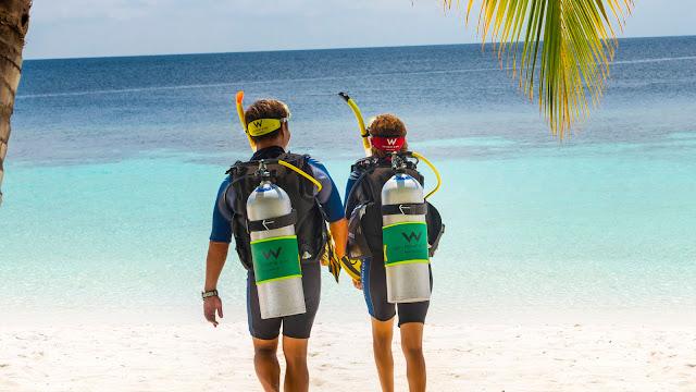 W Maldives, Tauchen