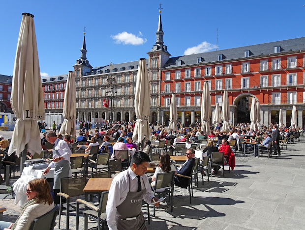 Plaza Mayor Madrid Spain