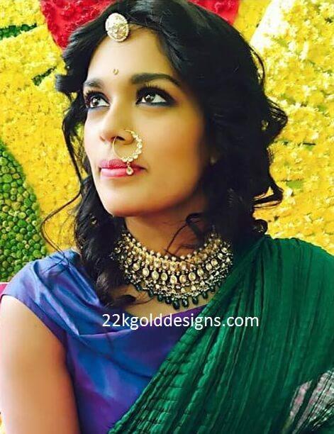 Chiranjeevi Daughter Sreeja Mehndi Function Jewellery