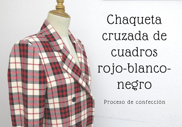 proceso de confección de una chaqueta de mujer