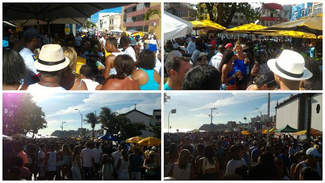 Festa de Iemanjá foi tranquila