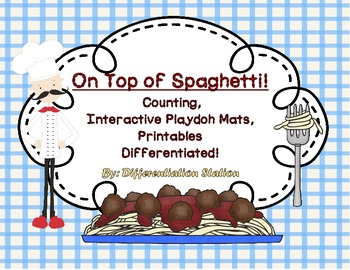 http://www.teacherspayteachers.com/Product/On-Top-of-Spaghetti-Interactive-Play-Dough-Mats-Counting-Centers-Printables-914921
