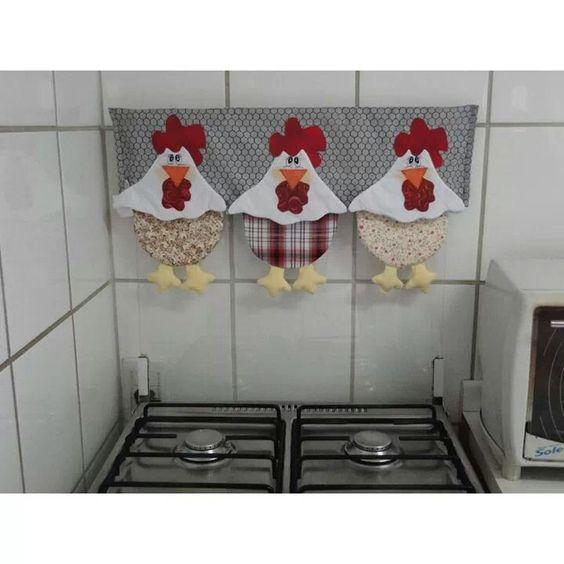 10 cenefas de gallinitas para decorar la cortina de tu for Moldes de cocina