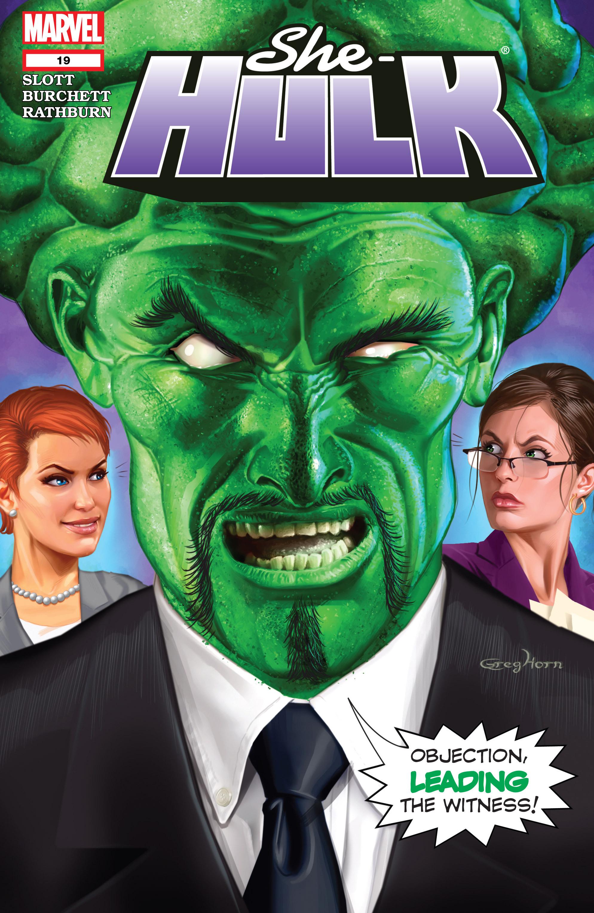 Read online She-Hulk (2005) comic -  Issue #19 - 1