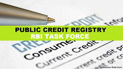Public credit registry: RBI Task Force