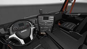 Black Lux interior for Iveco Hi-Way