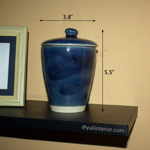Blue Mini Decorative Vase in Port Harcourt, Nigeria