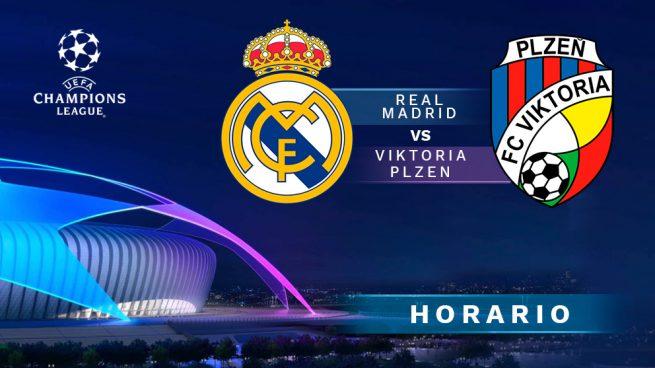Real Madrid vs. Viktoria Plzen: Horario y dónde ver en vivo