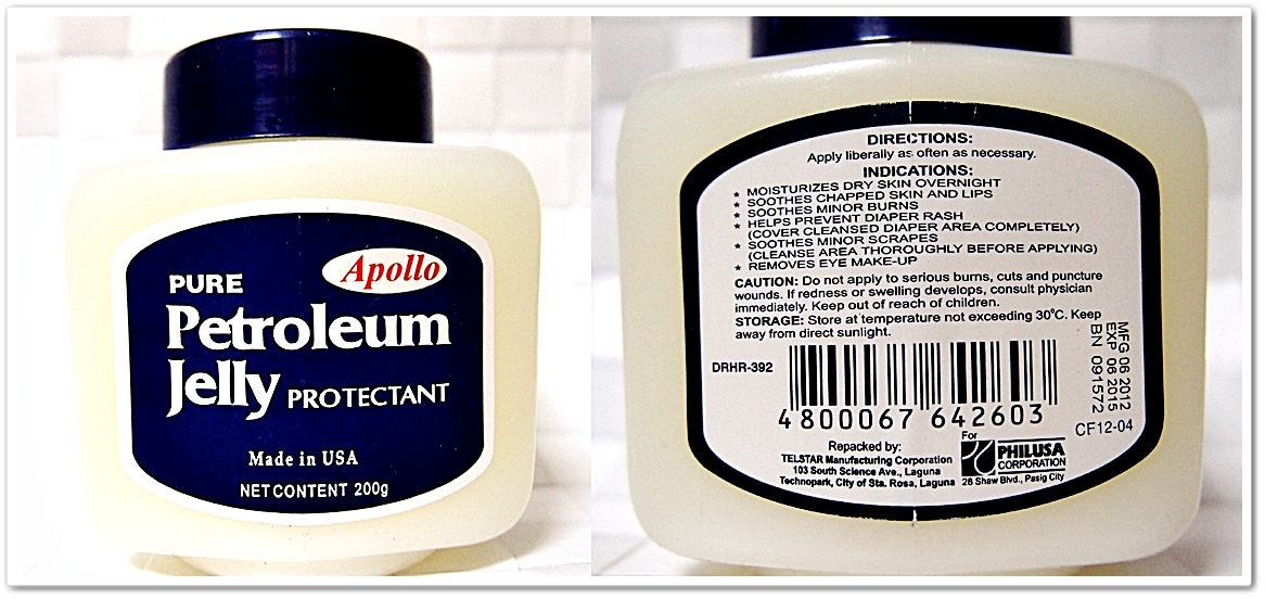 The Multi-purpose of Apollo Petroleum Jelly - Paperblog