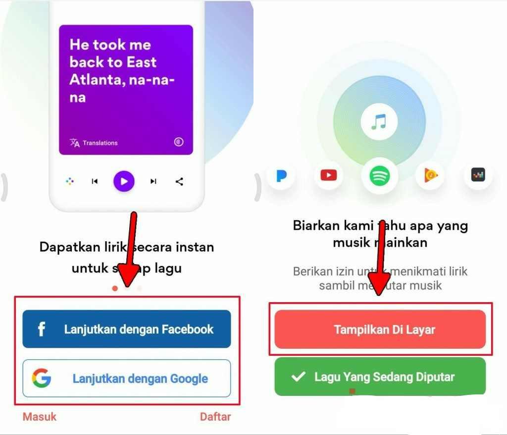 Cara jitu menampilkan lirik lagu YouTube untuk android 1