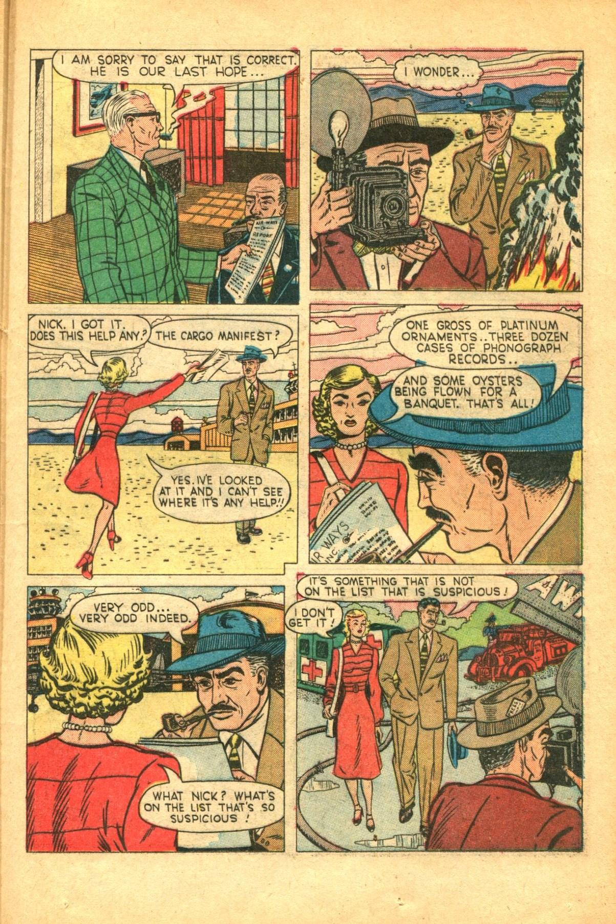 Read online Shadow Comics comic -  Issue #91 - 35