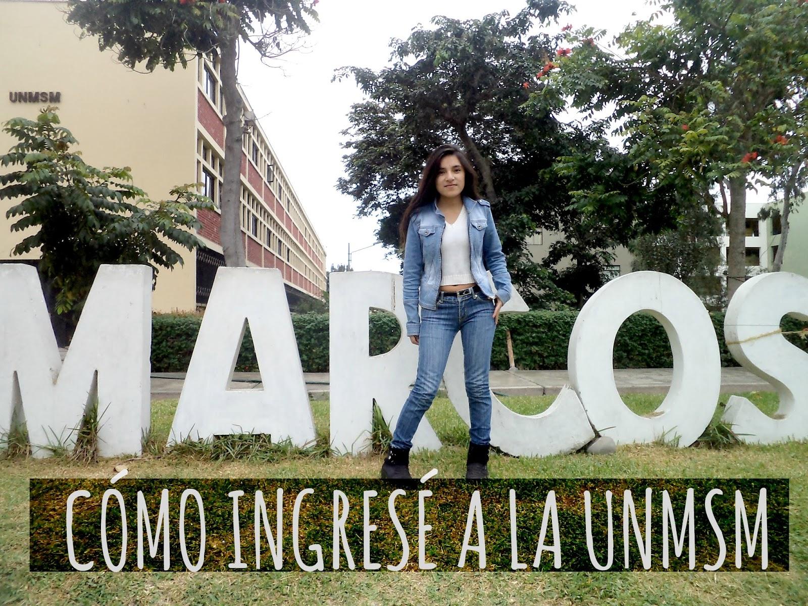 Universidad || Cómo ingresar a la Universidad Nacional Mayor de San ...