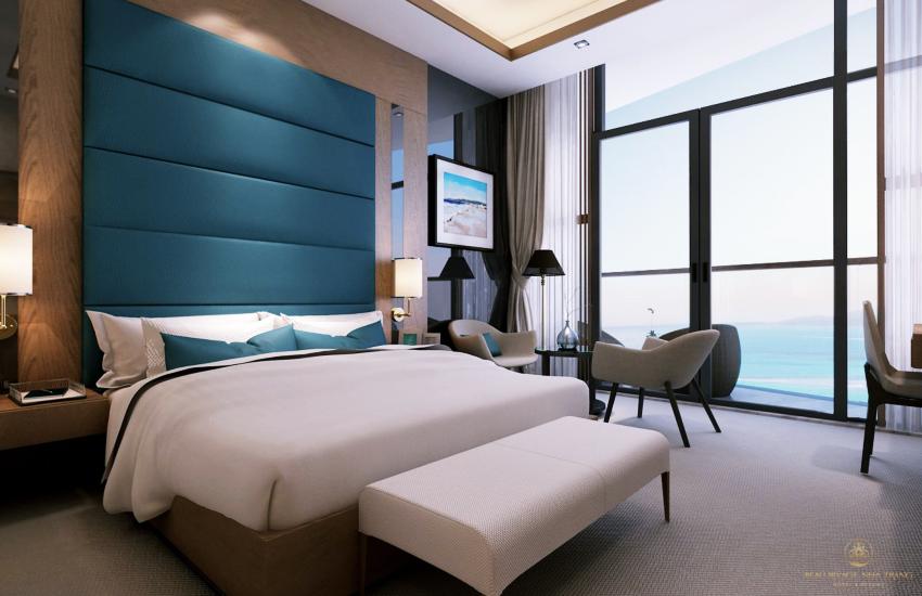 Hình ảnh nội thất phòng ngủ Tropicana 40 Trần Phú