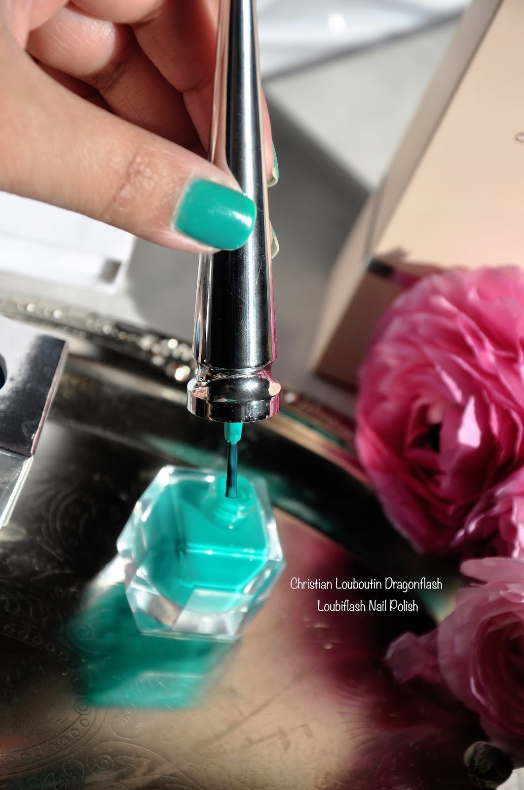Christian Louboutin Loubiflash NailPolish Dragon Flash