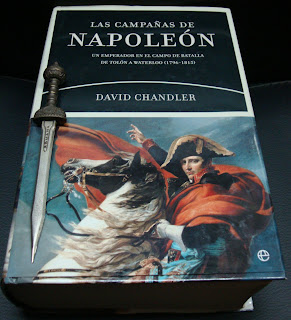 Portada del libro Las campañas de Napoleón, de David Chandler
