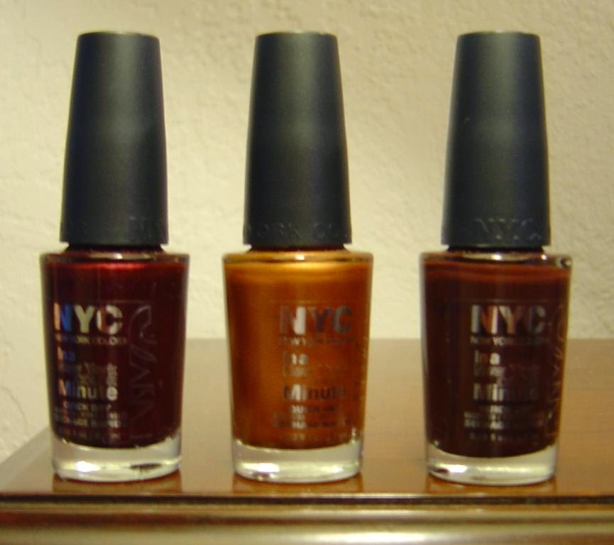 NYC New York Color Fashion Queen Collection of In a Minute Nail Polishes.jpeg