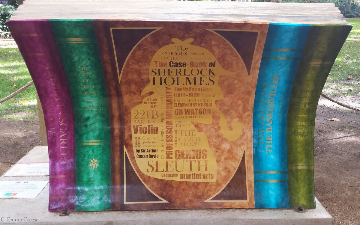 Sofa Classic Bed Lazada Malaysia Books About Town - London Literary Art Installations ...