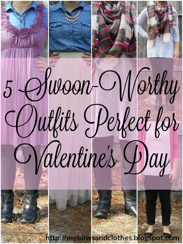 5 swoon-worthy outfits perfect for valentine's day High Five for Friday + Five Minute Friday 2.12.16