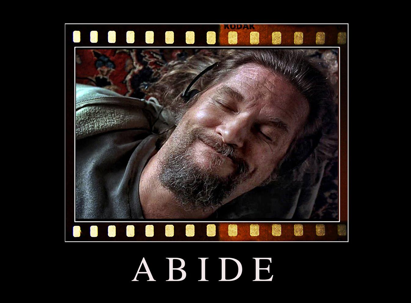 Webbfeat Photo The Dude Abides