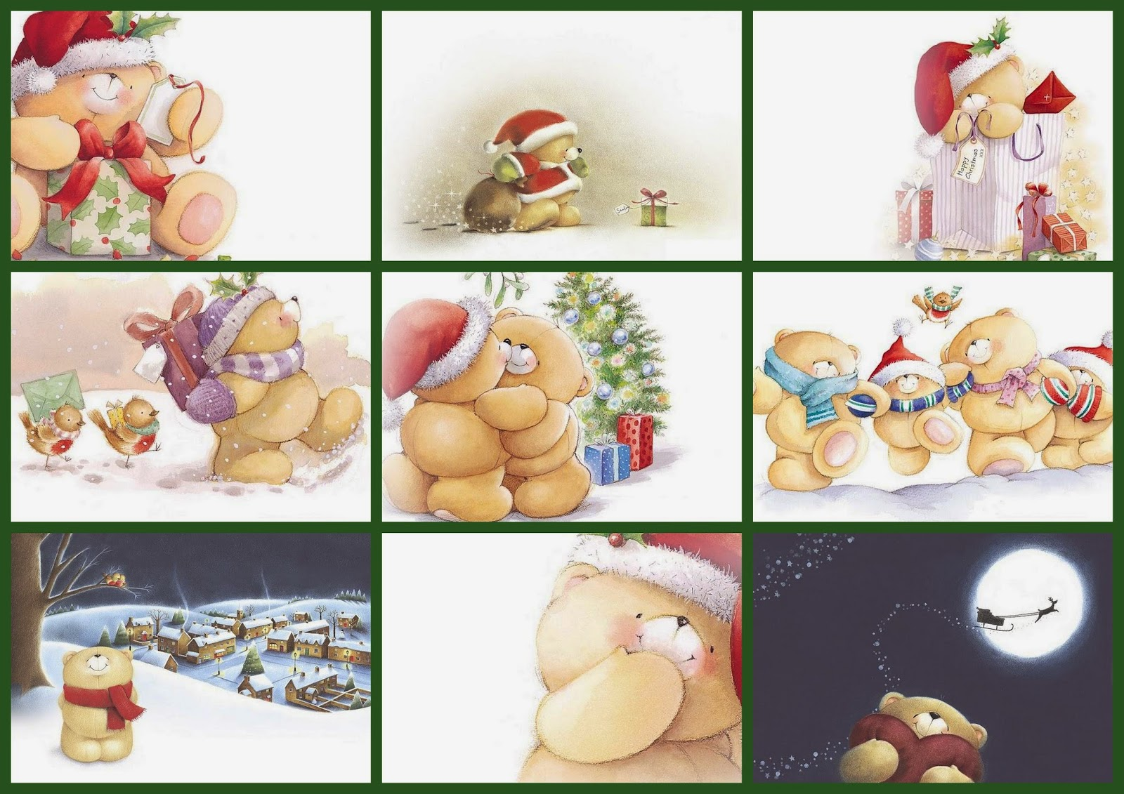 Ositos For Ever Friends para Navidad.