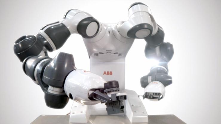 Антропоморфный промышленный робот