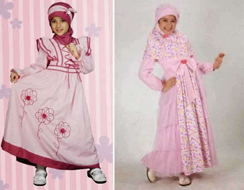 baju muslim anak fashion show