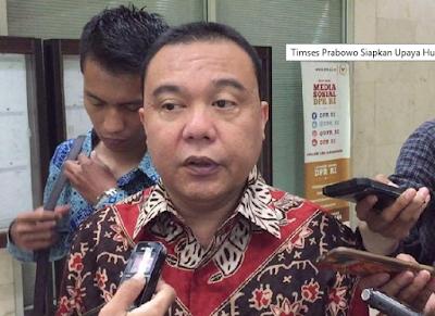Timses Prabowo Sudah Menyiapkan Upaya Untuk Hukum Situs Skandal Fitnah.