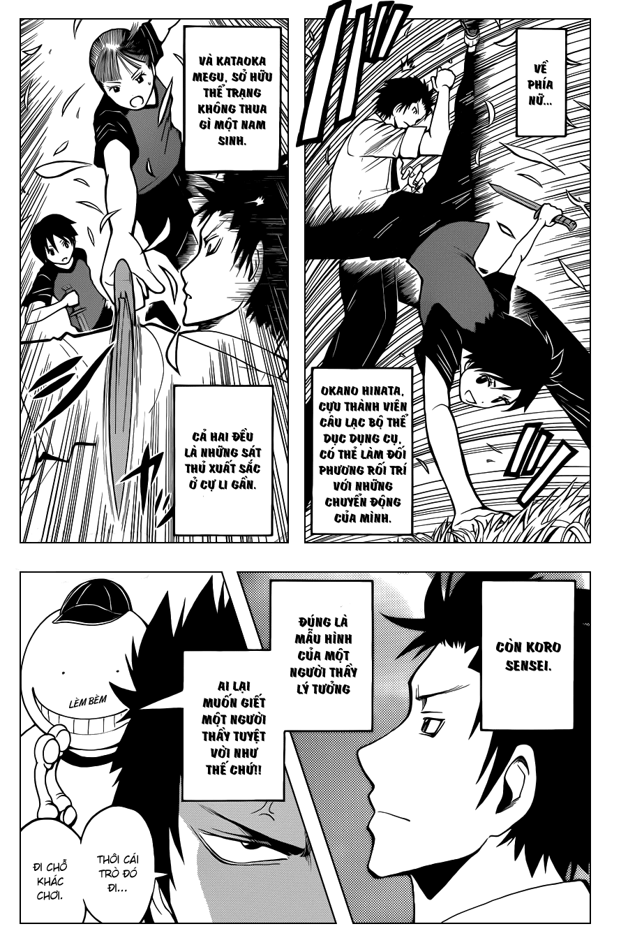 Ansatsu Kyoushitsu chap 38 trang 7