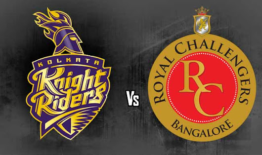 Royal Challengers Banglore vs Kolkata Knight Riders Live Scorecard, Streaming