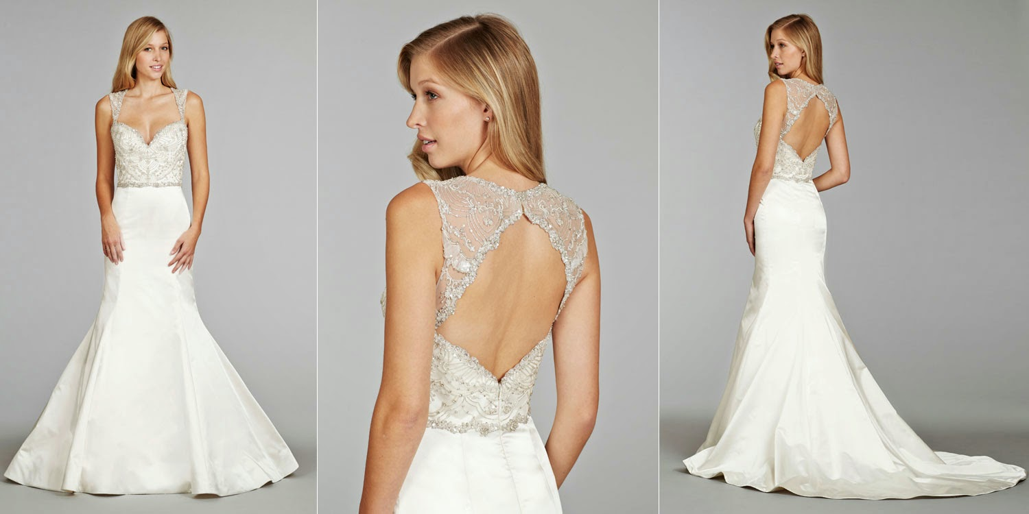 Fly Me To The Moon: Wedding Gowns With Fabulous Backs