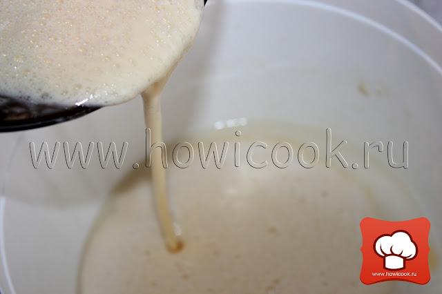 пошаговые фото рецепт вкусные блины на дрожжах