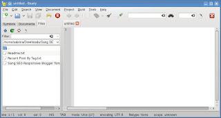 Aplikasi Teks Editor Geany