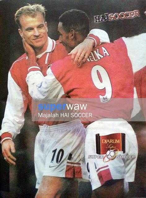 Bergkamp & Nicolas Anelka (Arsenal)