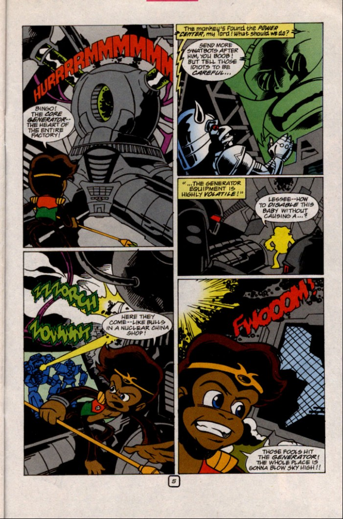 Read online Sonic The Hedgehog comic -  Issue #87 - 21