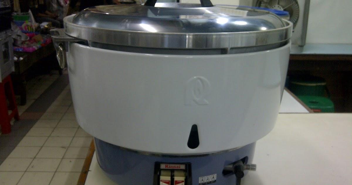 Sentral Gas Harga Rice Cooker Gas Rinnai Pemasak