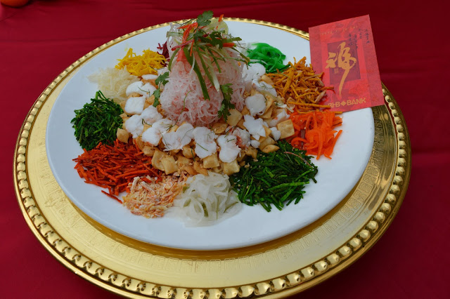 Yee Shang - Traditional Salad for -Chinese New Year