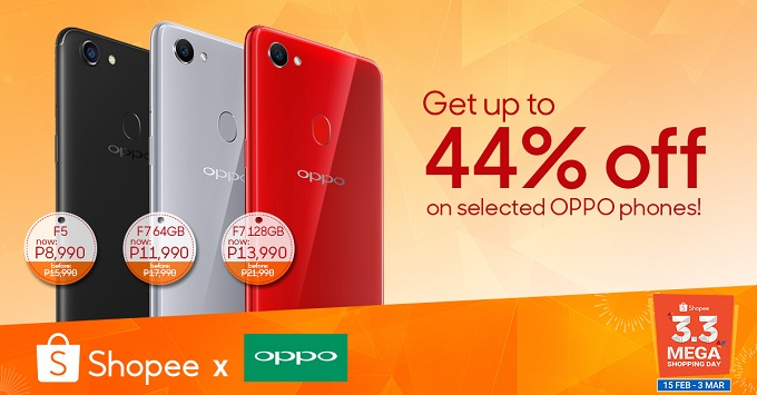 OPPO Shopee Sale