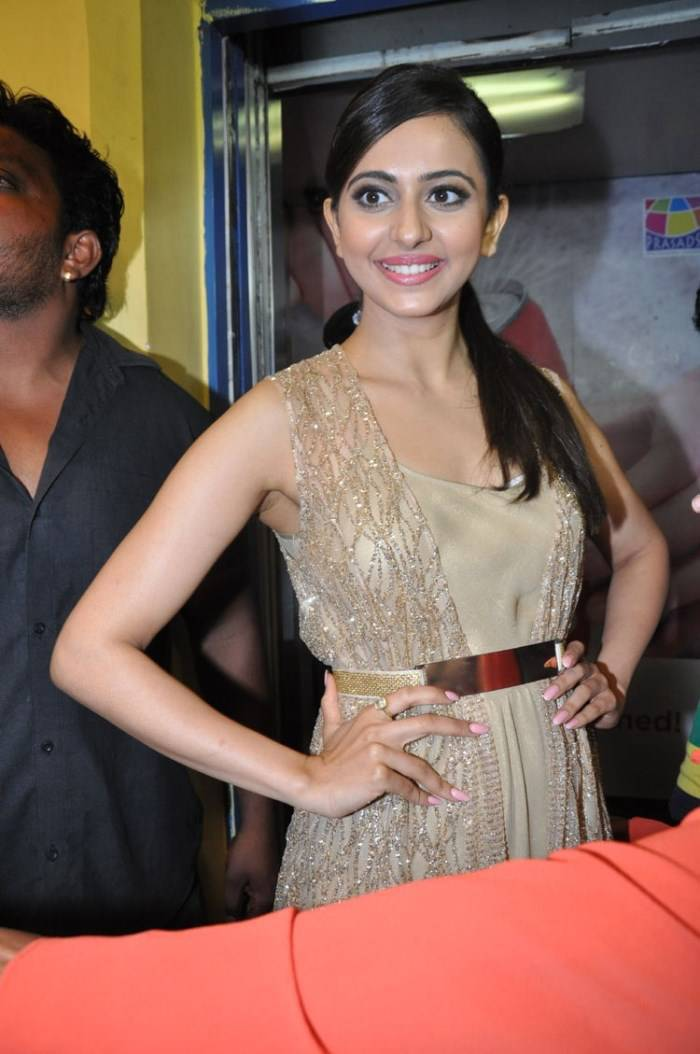 Rakul Preet Singh Stills At Bruce Lee Premiere Show