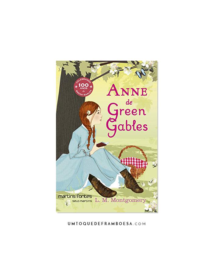 Capa do e-Book Anne de Green Gables