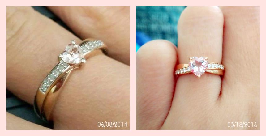 Morganite Wedding Band 58 Stunning Ring upgrade