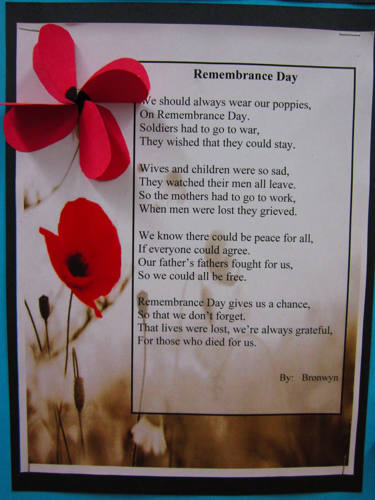 Inspiration for the poem 'In Flanders Fields' by John McCrae