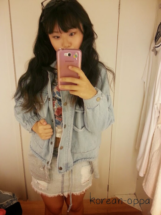 Review || Sheinside Denim Jacket