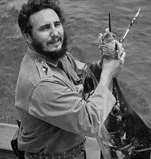 Fidel Castro, Fidel Castro Fly Fishing, Fidel Castro Facial Hair, Pat Kellner, Texas Freshwater Fly Fishing, Fly Fishing Texas, Texas Fly Fishing, TFFF, Fly Fishing History, Fishing Facial Hair