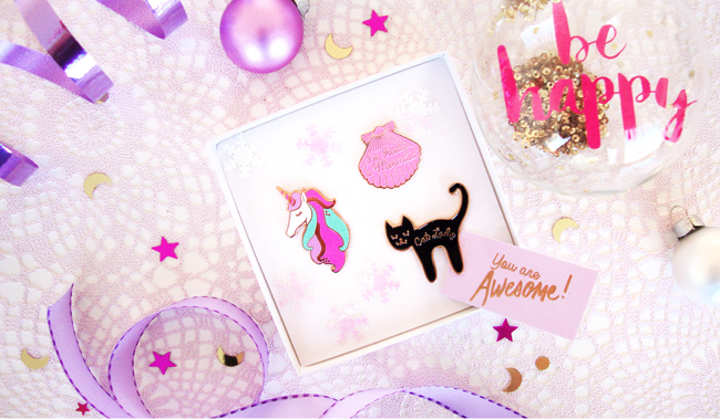 I Love Crafty, giveaway, pin lovers gift set